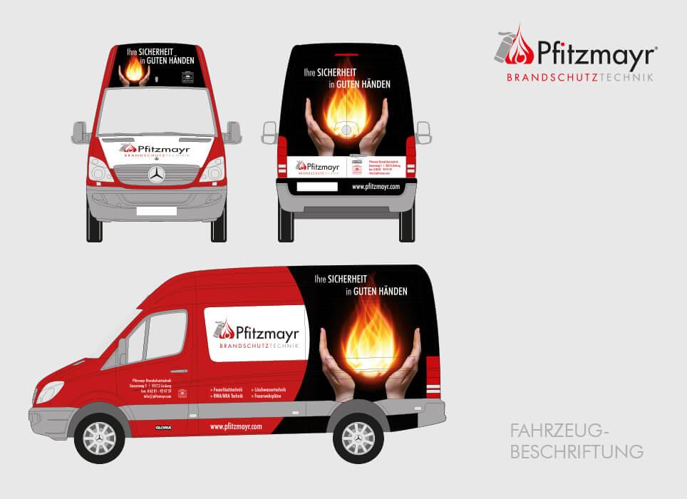 Fahrzeugbeschriftung KFZ Werbung