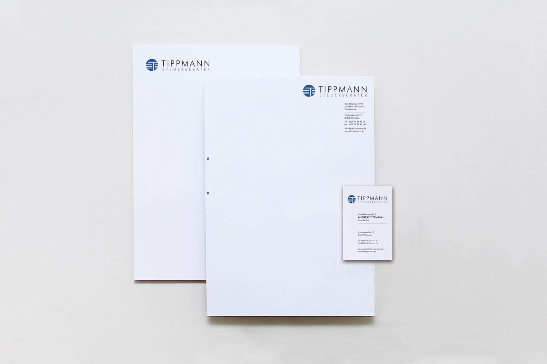 Geschäftsausstattung Visitenkarten Briefpapier