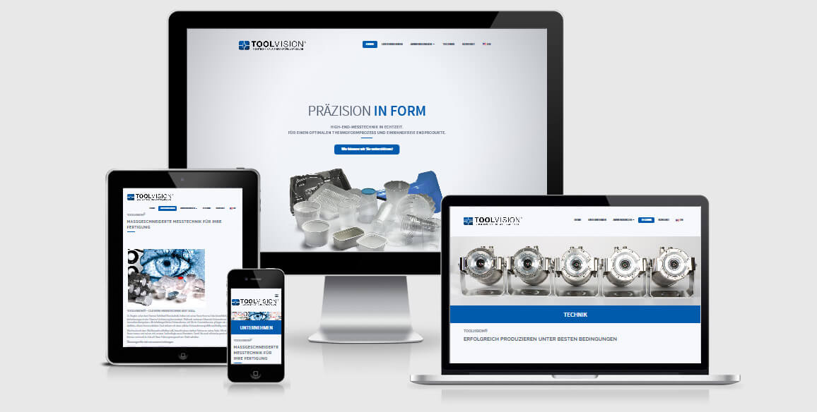 Website Design Webdesign Toolvision