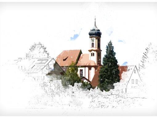 Illustrationen Pfarreigemeinschaft Dietkirch